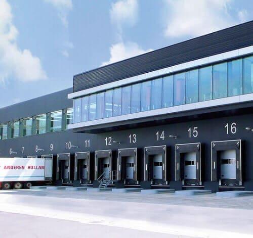 Loading systems industriedeuren zijn duurzaam geproduceerd.