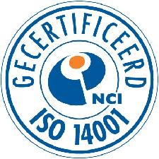ISO 14001 gecertificeerd