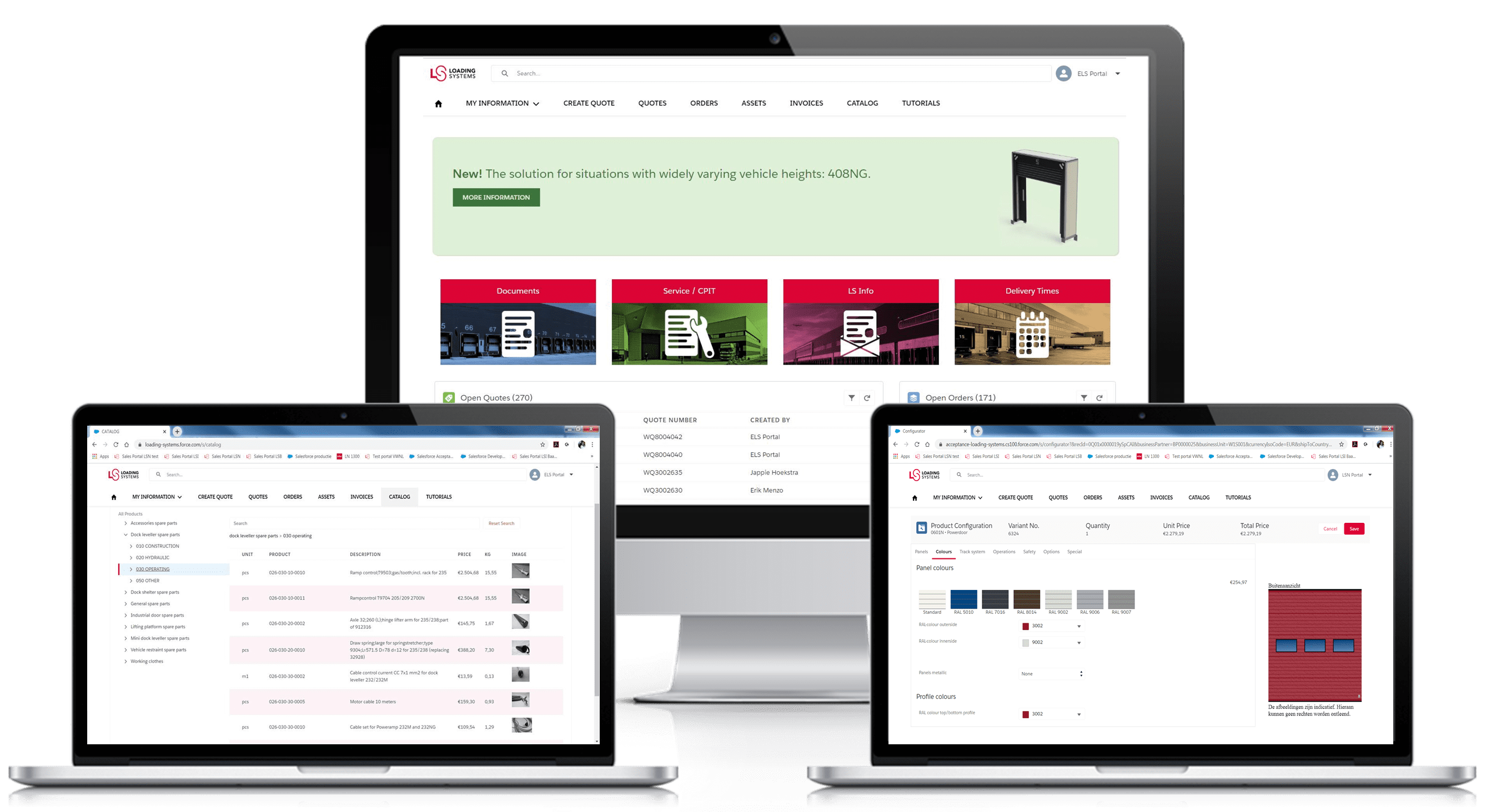 The Partner Portal is your go-to place for everything related to Loading Systems!