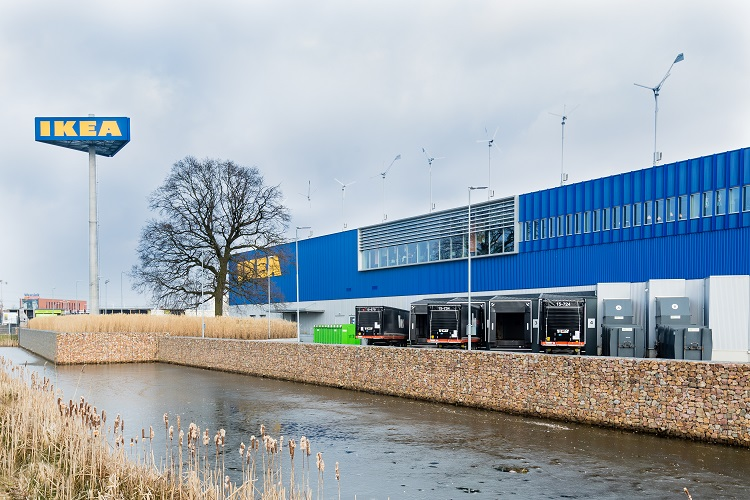 IKEA Zwolle, the most sustainable IKEA store in the Netherlands