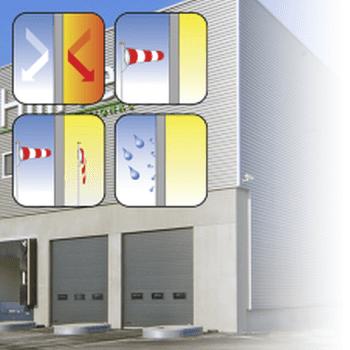Een overheaddeur van Loading Systems is energiezuinig